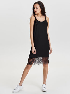 KNITTED SLEEVELESS DRESS