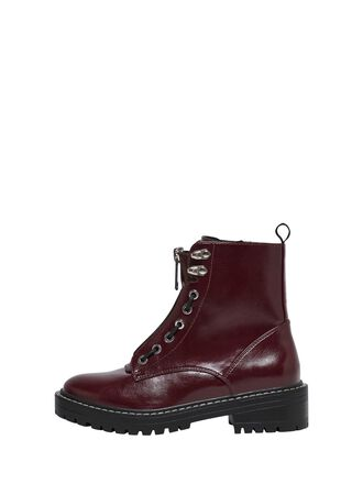 LEATHER LOOK BOOTS