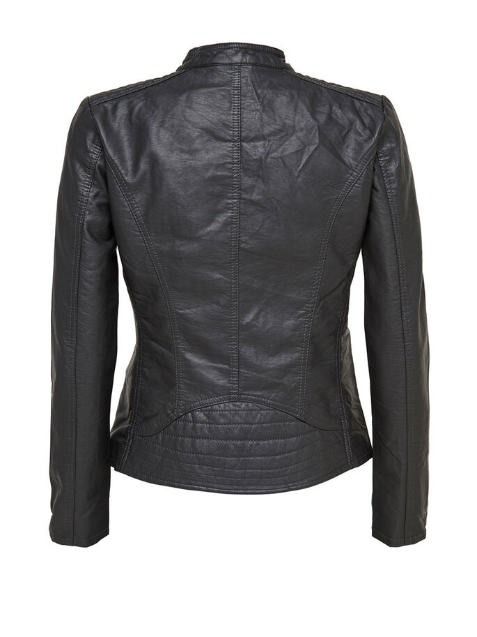 SIMILI CUIR VESTE, Phantom, large