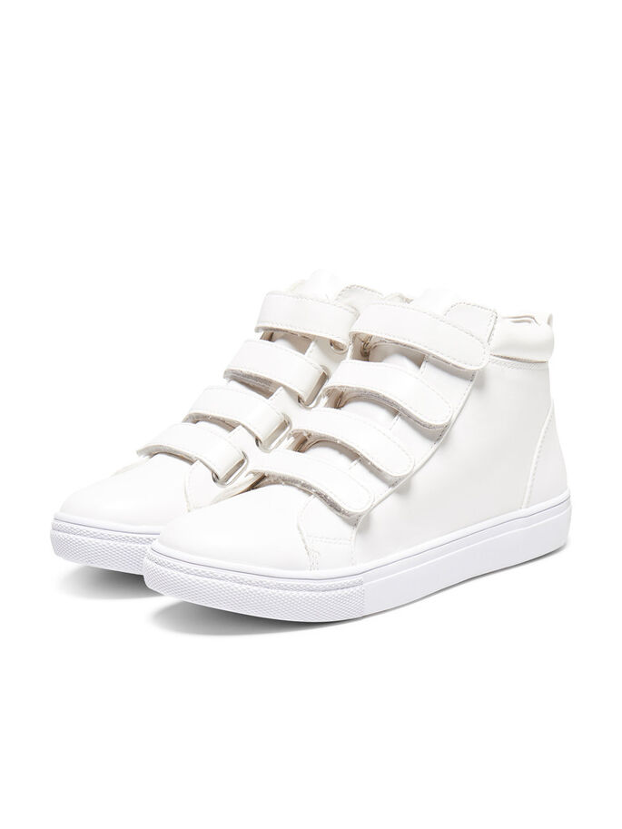 HØYE SNEAKERS, White, large