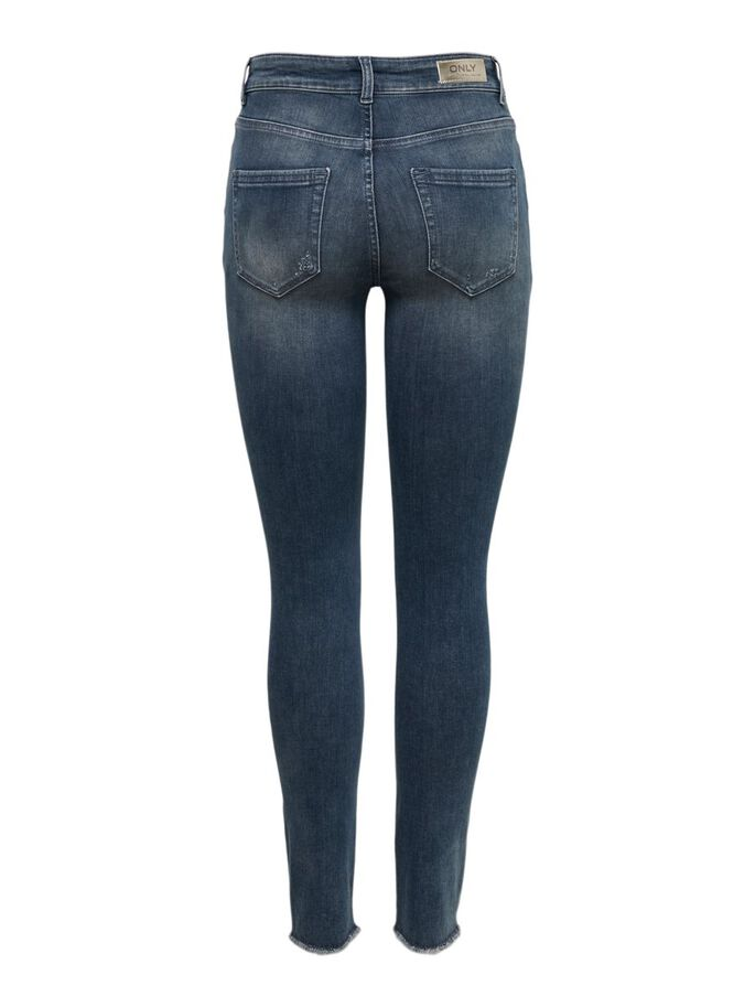 ONLBLUSH LIFE MID ANKLE SKINNY FIT JEANS, Special Blue Grey Denim, large
