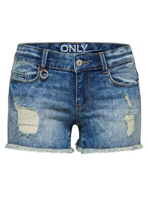 CORAL SUPERLOW DESTROYED JEANSSHORTS