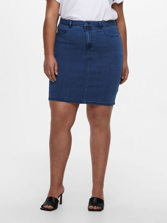 CURVY REGULAR DENIM SKIRT