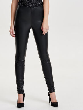 LEDERLOOK- LEGGINGS