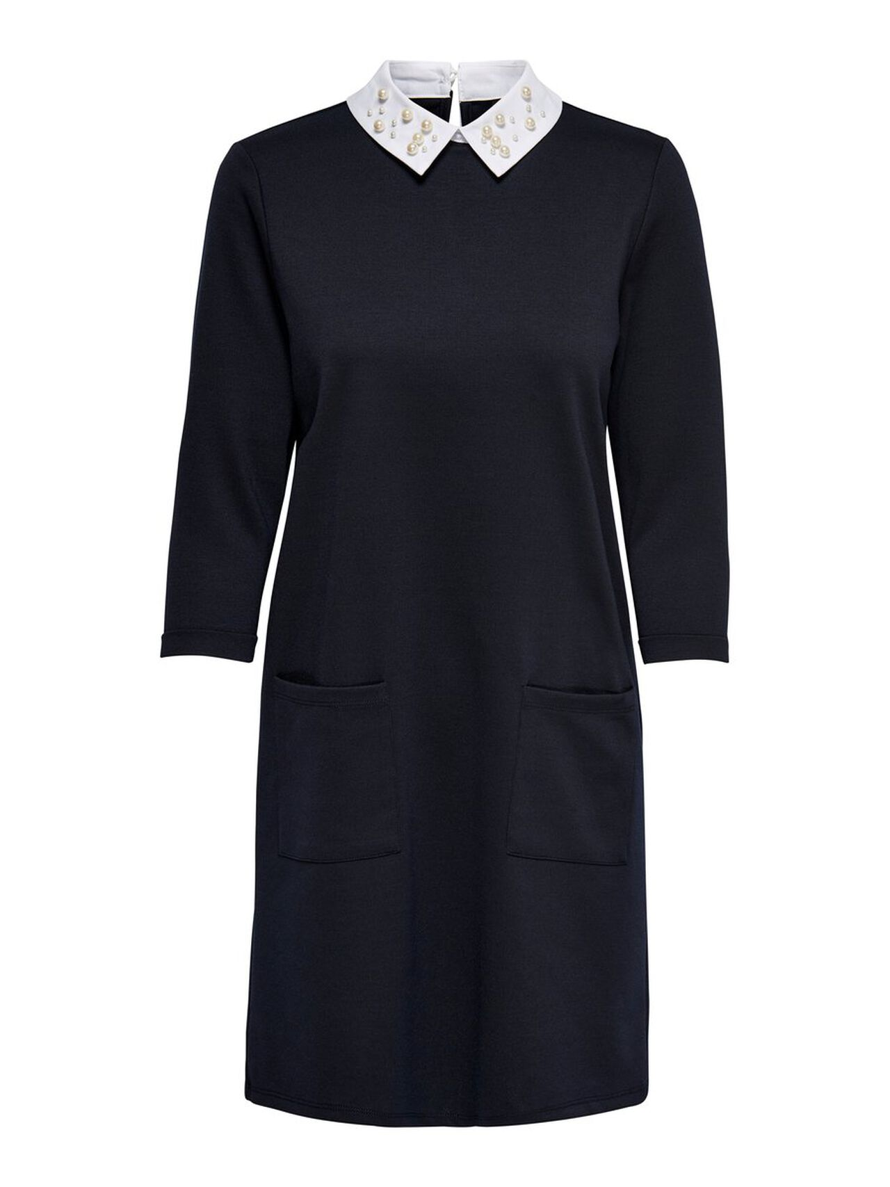 ONLY Collar Dress Women Blue