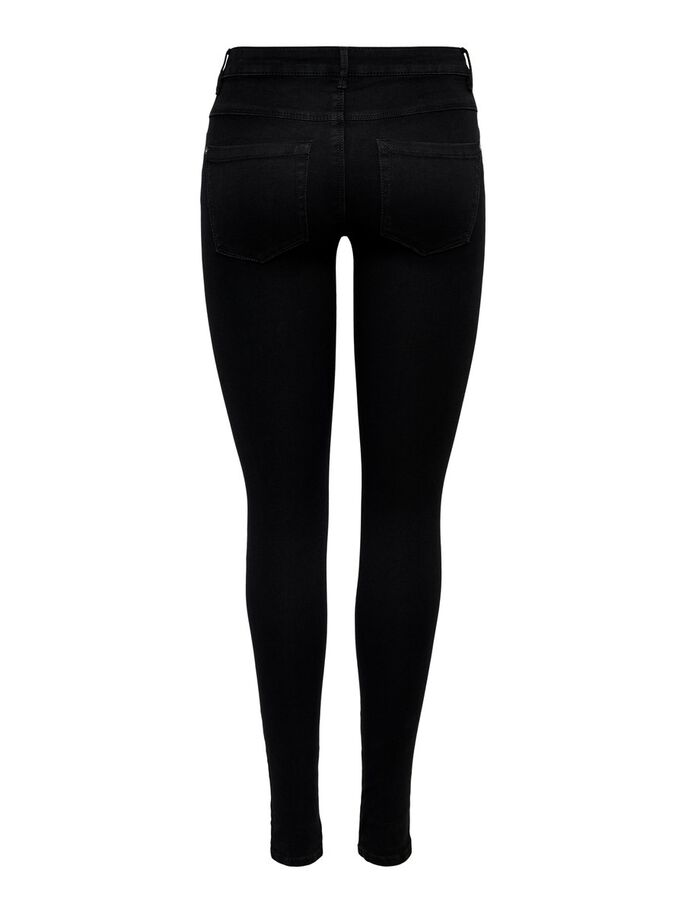 ROYAL REG SKINNY FIT JEANS, Black, large