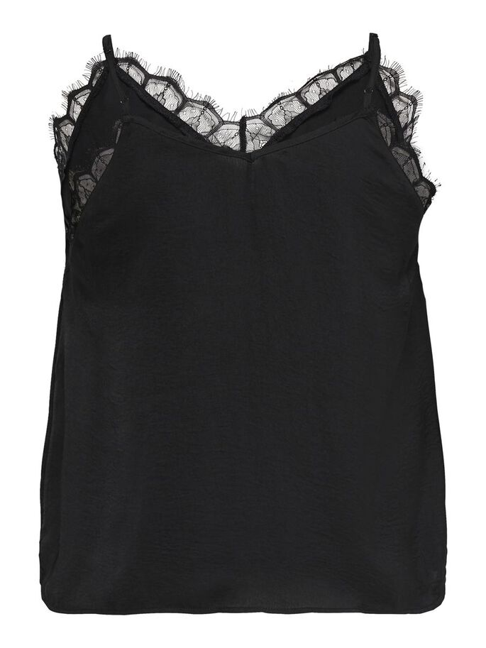 CURVY KANTEN TOP, Black, large
