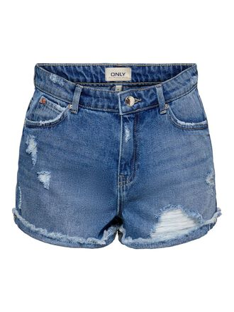 ONLKELLY LIFE HW DENIM SHORTS