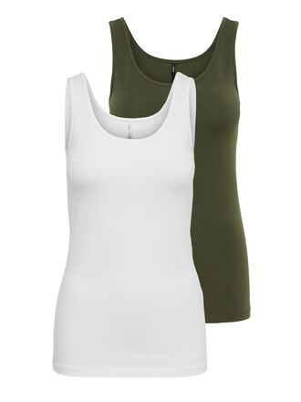 2ER-PACK BASIC TANKTOP