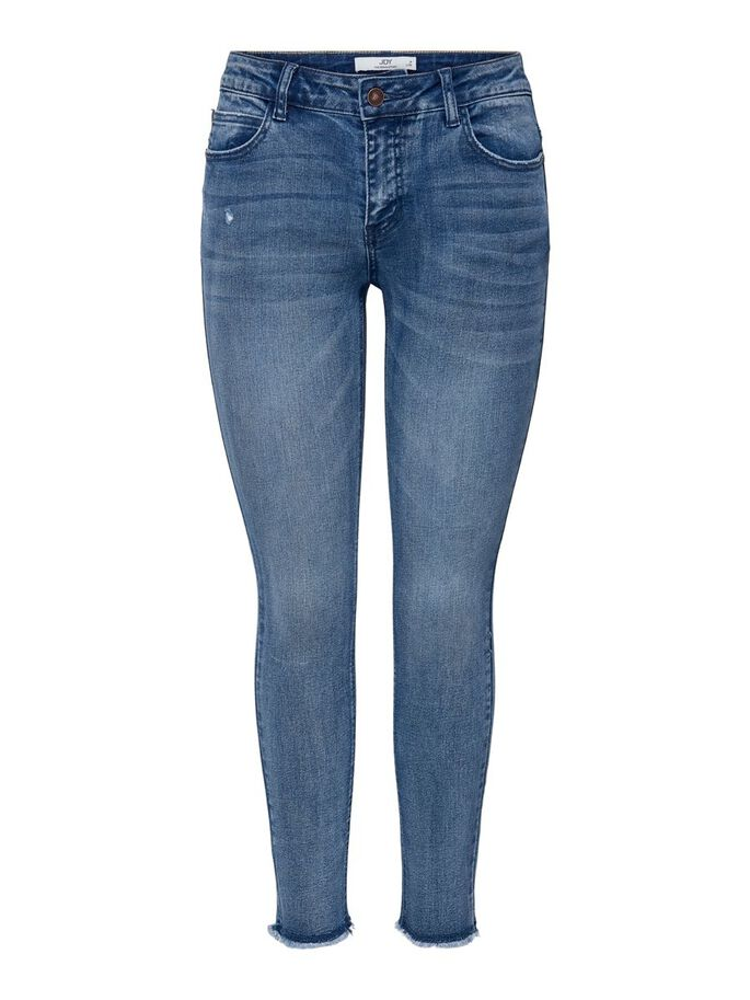 JDYSONJA LIFE REG ANKLE SKINNY FIT JEANS, Light Blue Denim, large