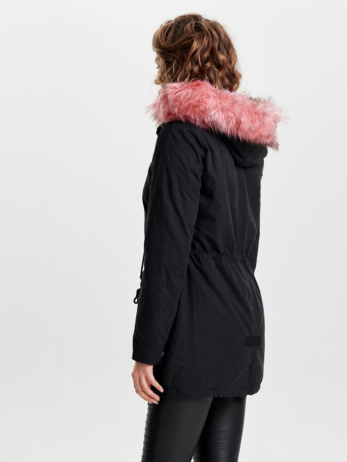 LANGE PARKA, Black, large
