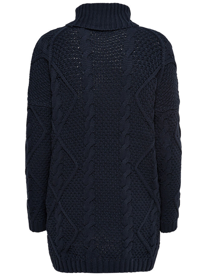 LONG PULL EN MAILLE, Night Sky, large