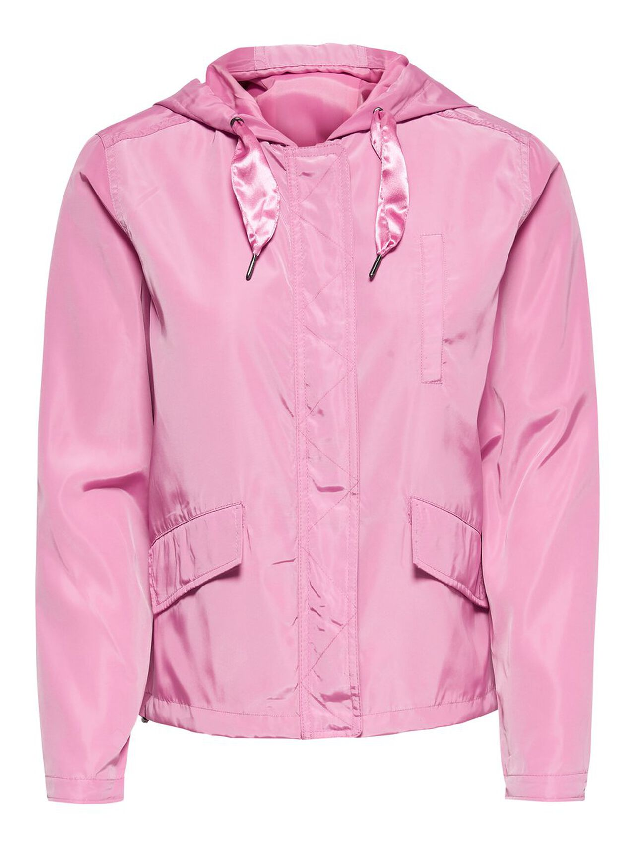 ONLY Short Parka Coat Women Pink
