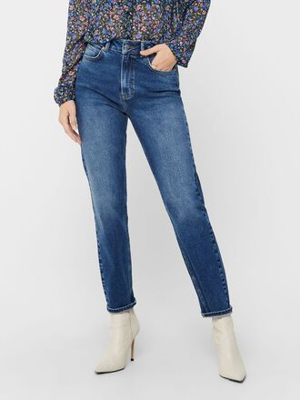 JDYKAJA LIFE HW ANKLE STRAIGHT FIT-JEANS