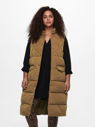 CURVY QUILTED WAISTCOAT