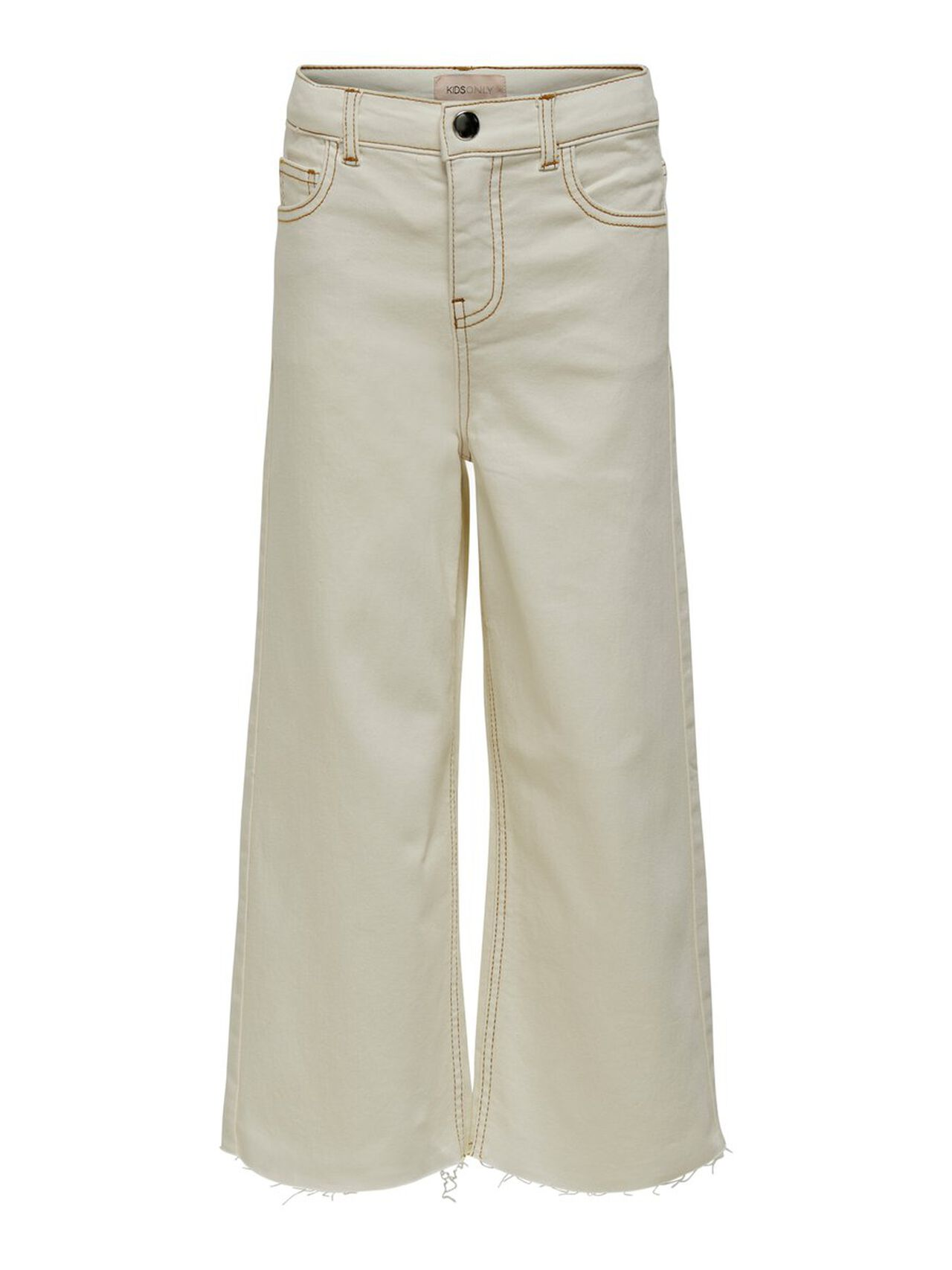 ONLY Kids Only Thea Weisse Flared Jeans Damen White