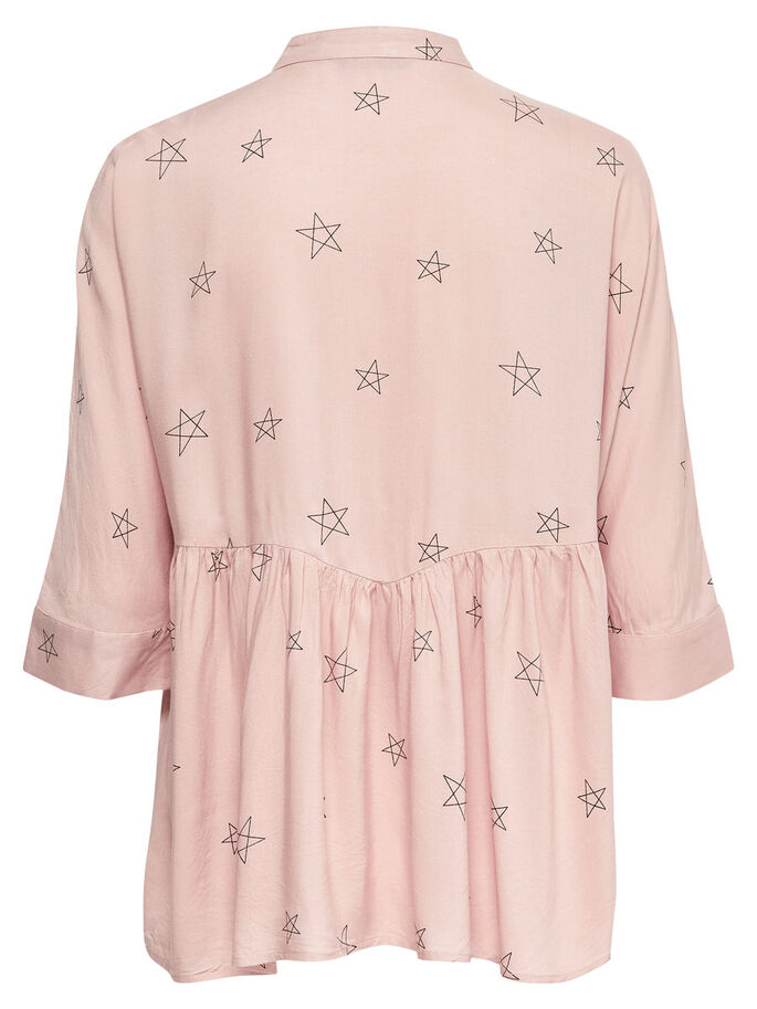 DETAILED 2/4 SLEEVED BLOUSE, Rose Smoke, large