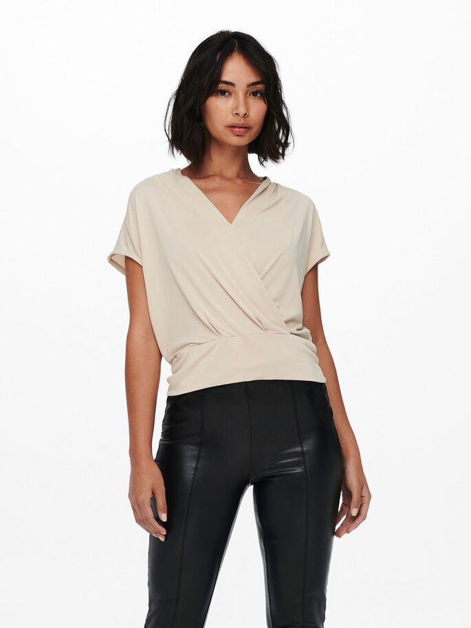 WRAP TOP, Cement, large