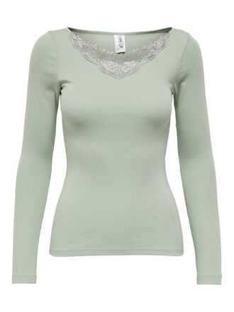LACE DETAIL TOP