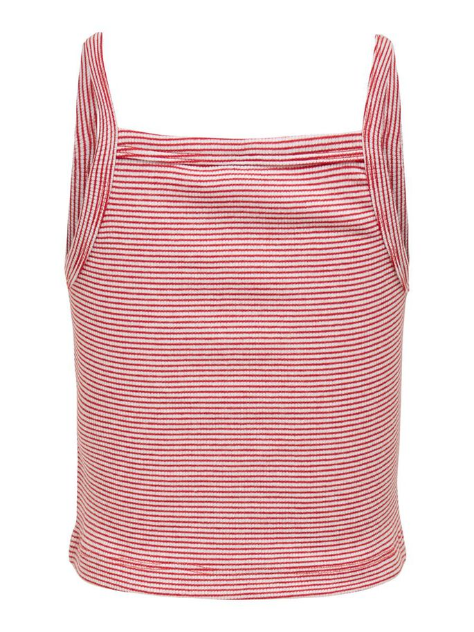 STRIPED TOP, High Risk Red, large