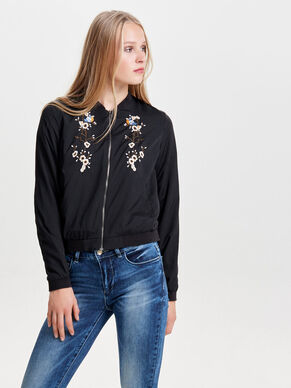 LONG SLEEVED BOMBER JACKET