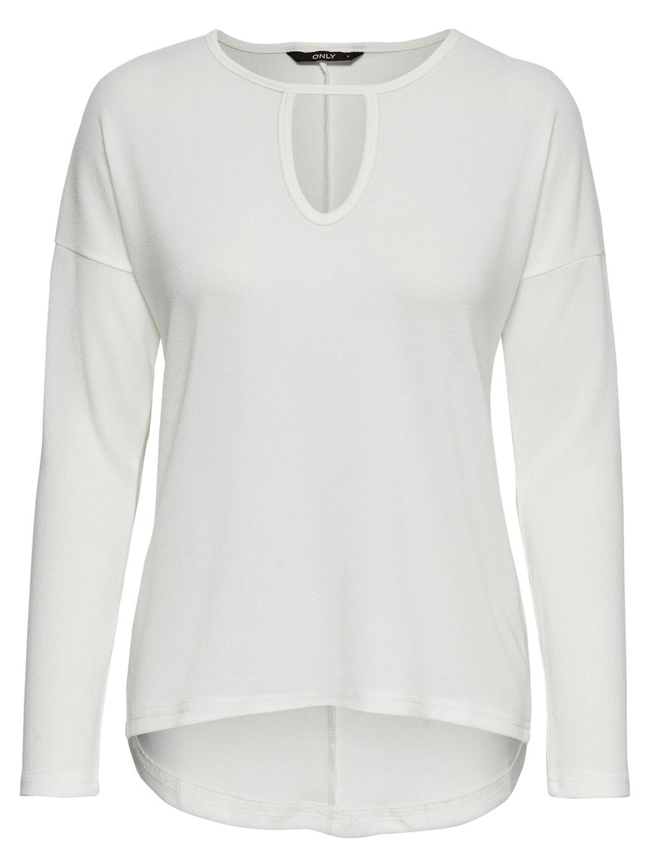 ONLY Loose Long Sleeved Top Women White