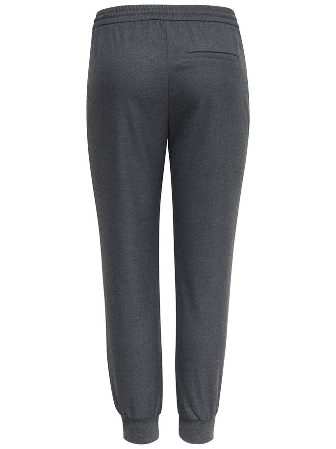 AMPLE PANTALON, Grey Melange, large