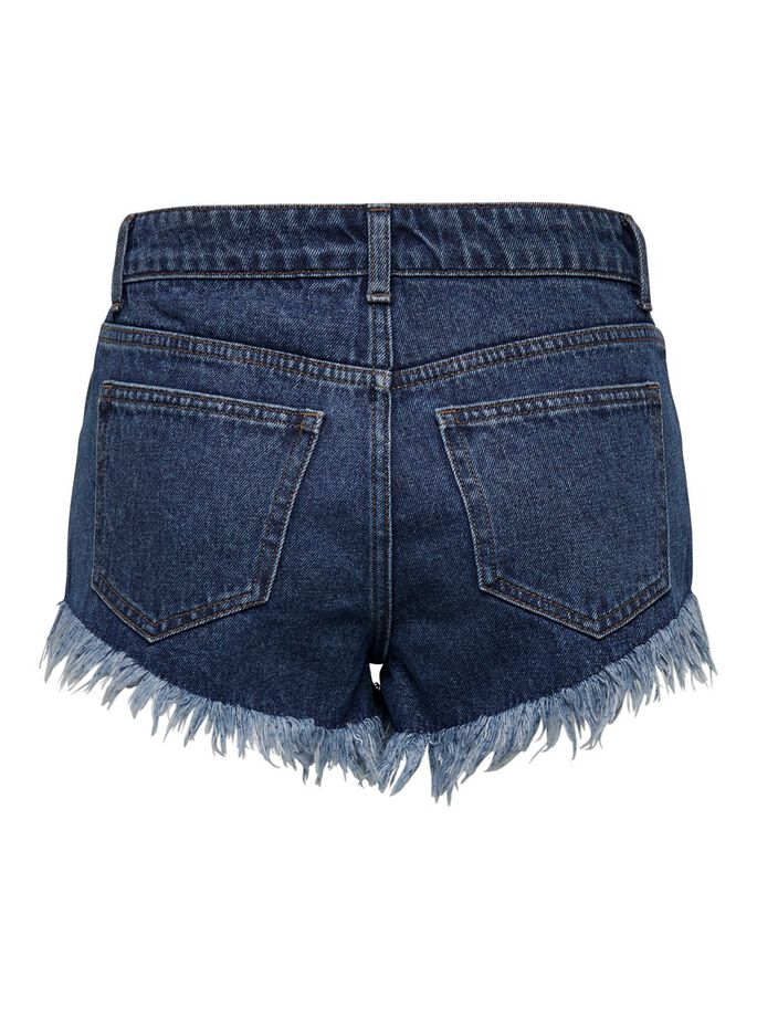 ONLFREY HW DENIM SHORTS, Medium Blue Denim, large