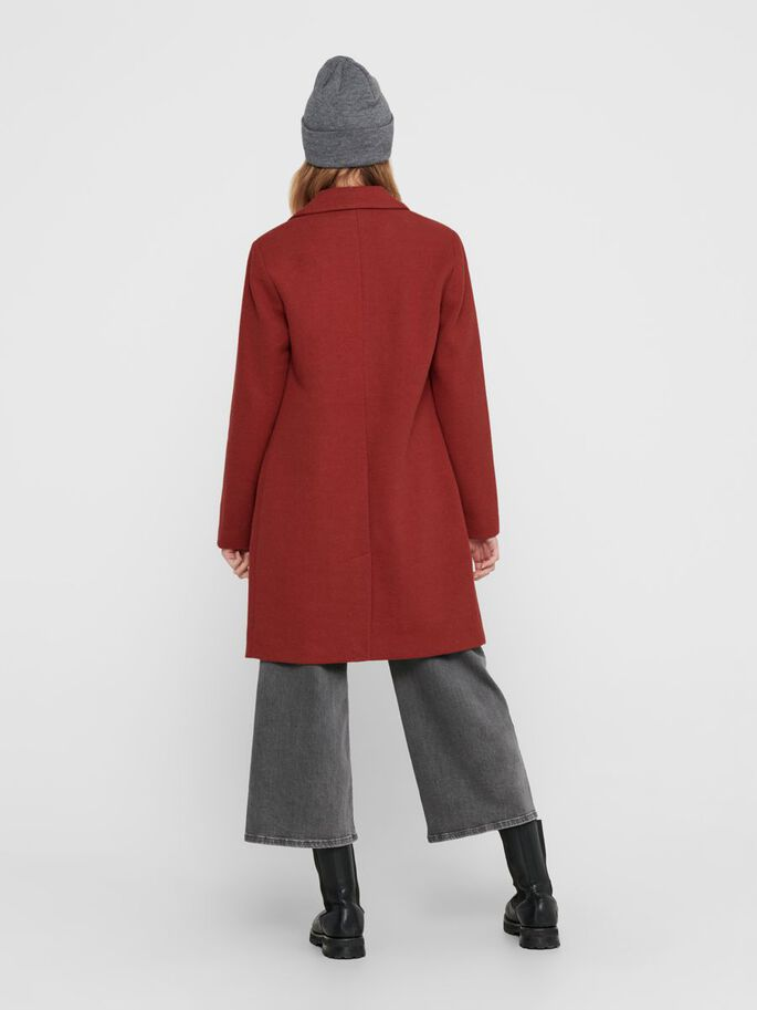 CLASSIC COAT, Red Ochre, large