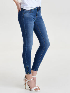KENDELL ANKLE ZIP JEANS SKINNY FIT
