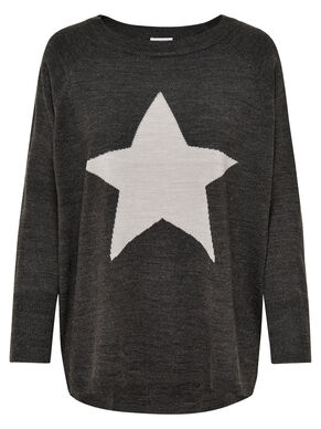 STAR KNITTED PULLOVER