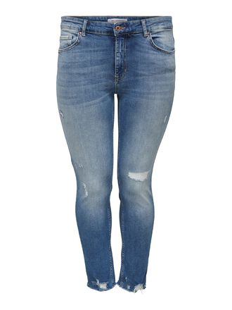 CURVY CARTARA LIFE REGUKAR CROPPED JEANS SLIM FIT