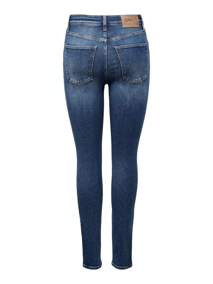 ONLBECKS LIFE HW SKINNY FIT JEANS, Medium Blue Denim, large