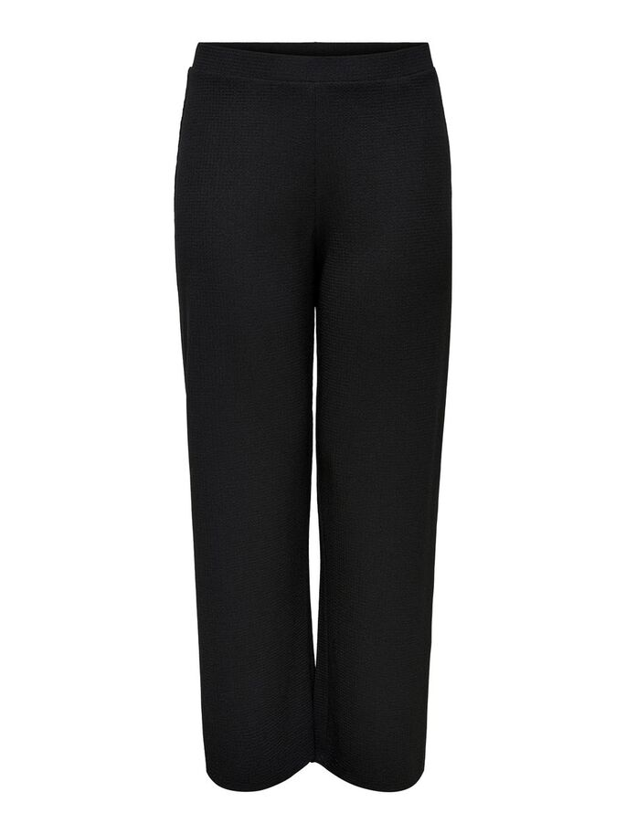 VOLUPTUEUX AMPLE PANTALON, Black, large