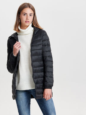 QUILTED NYLON COAT