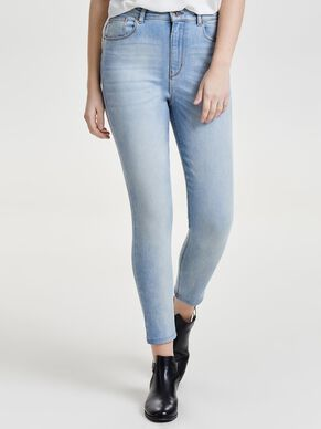 POSH HIGHWAIST CROP JEAN SKINNY