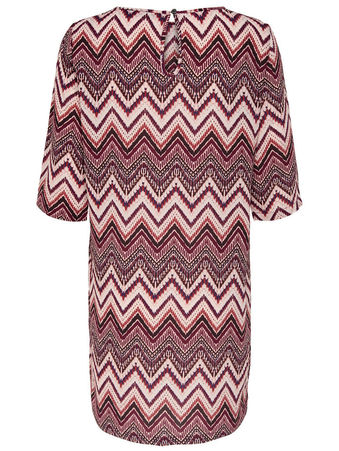 PRINTED DRESS, Rose Dawn, large