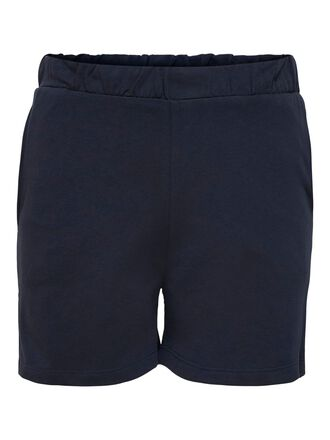 CURVY JERSEY SWEAT SHORTS