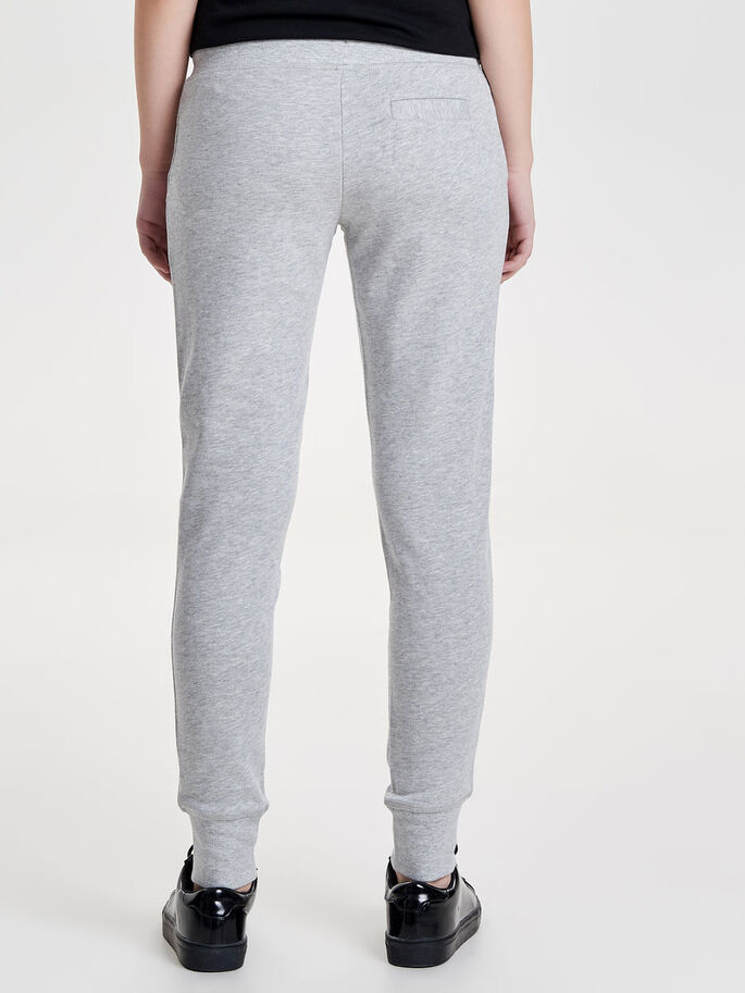 EFFEN SWEATBROEK, Light Grey Melange, large