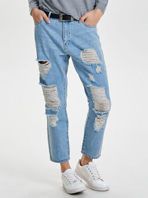 TONNI DESTROYED BOYFRIEND JEANS