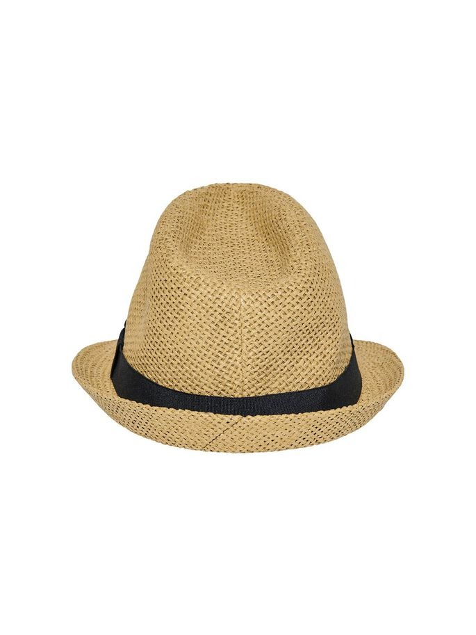 STRAW HAT, Natural, large