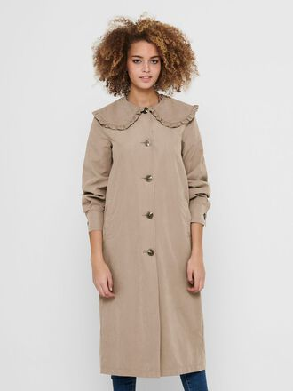 COLLAR DETAIL TRENCHCOAT