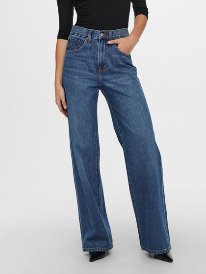 ONLHOPE LIFE EX HW WIDE STRAIGHT FIT JEANS