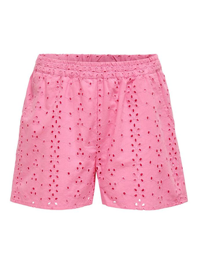 EMBROIDERY SHORTS, Sachet Pink, large