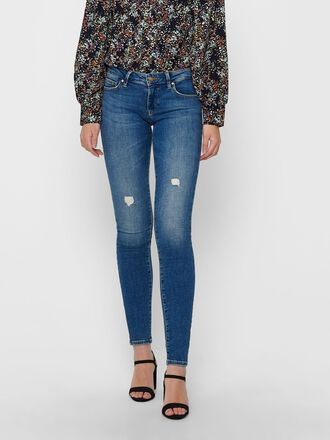 ONLCORAL LIFE SUPERLOW SKINNY FIT JEANS
