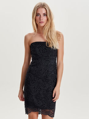 LACE TUBE SLEEVELESS DRESS
