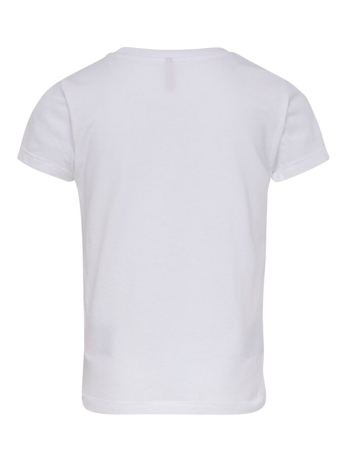 PRINTED T-SHIRT, Bright White, large