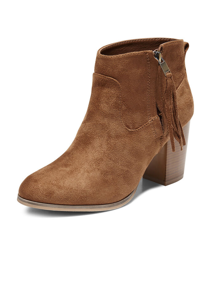 SHORT BOOTS, Cognac, large
