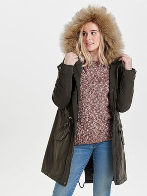 LONG PARKA COAT