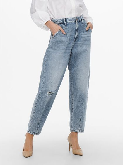 ONLVERNA BALLOON ANKLE HIGH WAISTED JEANS